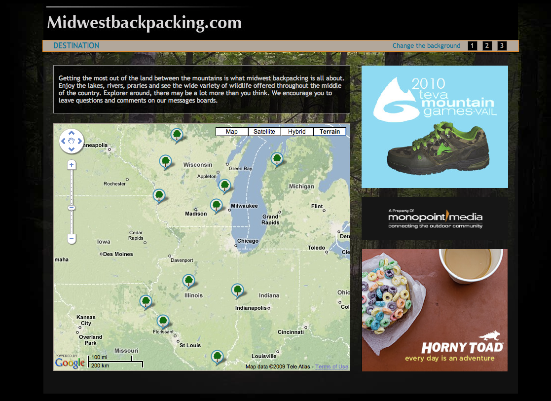 Nick Behr Portfolio - Chicago map gps